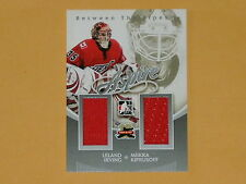 2011-12 ITG Between The Pipes Aspire Hockey Card # AS-02 Irving/Kiprusoff