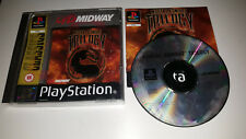 * Sony Playstation Classic One Game * MORTAL KOMBAT TRILOGY * PS1