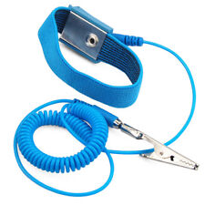 Anti-Static Electricity Grounding Wristband Wrist Strap Band ESD Discharge PC