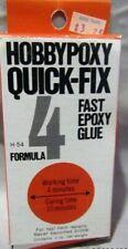Hobbypoxy # 54T  QUICK-FIX FAST EPOXY GLUE 4 FORMULA 2 OZ  MIB