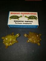 vintage MAGNETIC TURTLES in box  schilldkroten