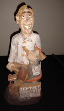 Beautiful RARE Vintage Ceramic Male Dentist hand crafted by J. Vincent studios