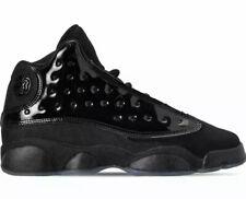 Nike Air Jordan 13 Retro GS Cap and Gown Black Black Sz 5Y Wmns 6.5 884129 012