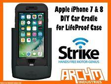 STRIKE ALPHA APPLE IPHONE 7 & 8 CAR CRADLE FOR LIFEPROOF CASE DIY- FAST CHARGER