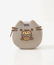 Pusheen Hamburger Coin Purse Keychain Key Ring Clip Key Chain Licensed NWT