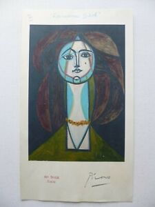 PICASSO SWISS PROOF COPY PRINT (FRANCOISE GILOT 1956) NO: XII - SIGNED