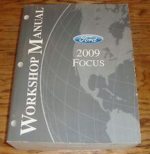 Original 2009 Ford Focus Shop Service Manual 09