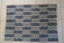 Altes Wickeltuch für Frauen Baule DF63 Old Bauole Cloth Tissu Afrozip