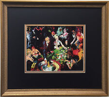 """LeRoy Neiman """"International Roulette 1969"""" Newly CUSTOM FRAMED Art Print VEGAS"""