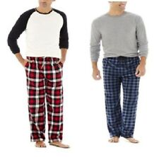 Stafford Mens Pajama Set Plaid Long Sleeves Cotton Polyester sizes XL XXL NEW