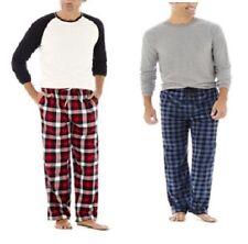 Stafford Mens Pajama Set Plaid Long Sleeves Cotton Polyester sizes XL XXL NEW