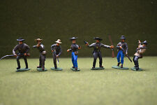 1/32 SCALE / 54MM AMERICA CIVIL WAR CONFEDERATE INFANTRY FULLY PAINTED SET