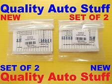 2X NEW Set of 2 DEI VATS Key OHMS Pellet Resistor Value Override Bypass Kit 652T