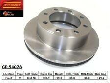 Disc Brake Rotor-4WD Front Best Brake GP54078