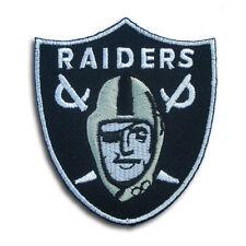 Raiders Patch Iron on Band Jacket Biker Baseball League Rider Vest Oakland NFL
