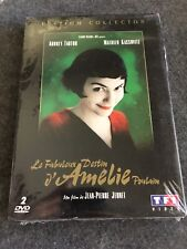 Le Fabuleux Destin Amelie Poulain Dvd 2002 Collectors Edition New Sealed French