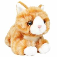 Orville the Orange Tabby Cat | 8 Inch Stuffed Animal Plush | By Tiger Tale Toys