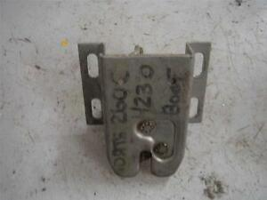 Datsun/Nissan 260C H230 Boot Lock Mechanism