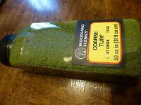 Woodland Scenics #785-1363 Coarse Turf Light Green Shaker