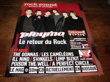 PLEYMO - PUBLICITE COUVERTURE ROCK SOUND !!!!!!!!!