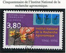 TIMBRE FRANCE OBLITERE N° 3001 RECHERCHE AGRONOMIQUE / Photo non contractuelle