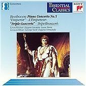 "Beethoven: Piano Concerto No. 5,  ""Triple Concerto"", , Very Good CD"
