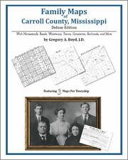 Family Maps Carroll County Mississippi Genealogy MS