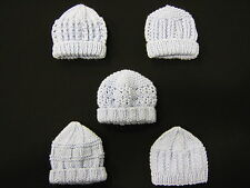 Premature Small Baby Knitting Pattern For 5 Hats  - DK - New Designs