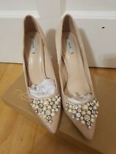 Next Cinderella Shoes!! Pink/nude  embellishments . look like Ted Baker shoes