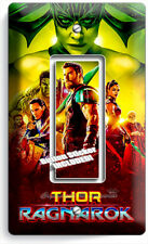 THOR RAGNAROK HULK SUPER HERO SINGLE GFI LIGHT SWITCH WALL PLATE ROOM ART DECOR