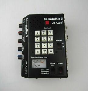 JK Audio RemoteMix 3   Portable  Phone Line Hybrid   Telephone Handset Interface