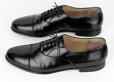 Nordstrom Made In Italy Black Calf Leather Cap-Toe Dress Oxford 15 M
