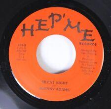 Christmas 45 Johnny Adams - Silent Night / The Lord's Prayer on Hep'Me