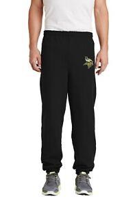 Minnesota Vikings Embroidered Sweat Pants no pockets