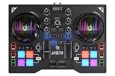 Hercules DJControl Instinct P8 Ultra-mobile USB DJ Controller With 8 Sample and