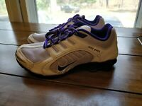 Nike Womens Shox Navina - 356918 550 - Violet Frost / Purple - White - Size: 7.5