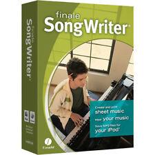 MakeMusic Finale SongWriter Professional Full Version - Download