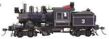 Bachmann-50-Ton 2-Truck Climax w/DCC -- Moore-Keppel & Co. #3 (black, graphite,