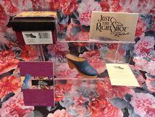 """Just The Right Shoe Raine Originals - """"Denim Blues""""- 1999 New"""