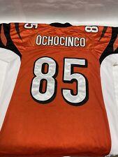 Chad Ochocinco Bengals NFL Reebok Jersey #85 Size 50