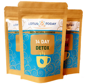 Lotus Today 14 Day Tea DETOX WEIGHT LOSS, DIET, SLIMMING, Cleansing Tea bags