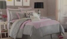 5 pc Kate Spade Spring Street Sweet Lilac Full/Queen Duvet Cover & Shams Set Nip