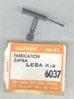 Ersatz Saphir-Nadel Zafira   LESA K 2