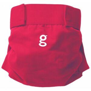 Cotton Spandex gDiaper G Diaper Cover Medium G PANTS EUC good fortune red