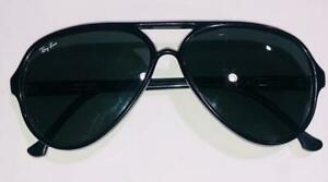 Vintage Bausch & Lomb Ray-Ban W0325 CATS 5000 G-15 Paddle Black France 145