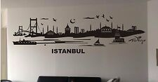 sticker paysage urbain city Istanbul Turquie Turkiye +sieur tailles & couleurs