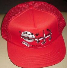 Myrtle Beach South Carolina Vintage 80s Snapback hat (MESH SIDES & BACK) New!