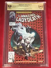 The Amazing Lady Death Unholy Ruin #1 Spider-man 300 Homage Cover Double Signed