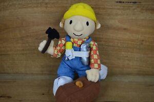Vintage 2002 Licensed Bob The Builder Plush - Free Postage