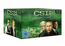 CSI: Las Vegas / Crime 1-15 - komplette Serie + Finale - 91 DVDs - deutsch - Box